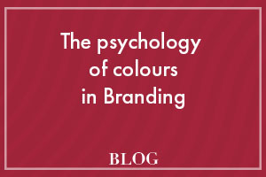 The psychology of colours in branding