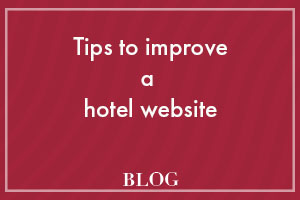 tips to improve a hotel website
