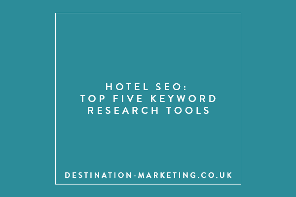 Top Five Keyword Research Tools