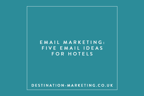 Five email ideas