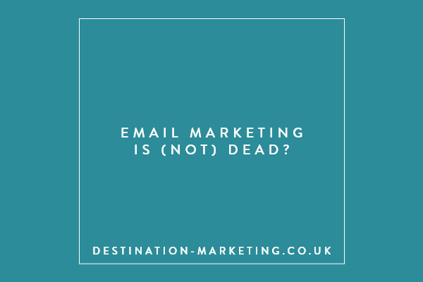 email marketing is not dead?