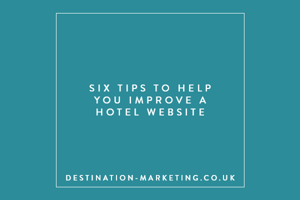 Tips to help you improve hotel website