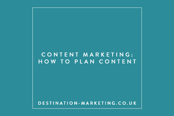 How to plan content